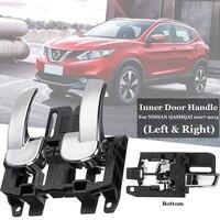 2x Front / Rear Left+Right Car InteriorDoor Handle Set For NISSAN QASHQAI 07 13 Dimensions: 12*7*4.8cm(approx)