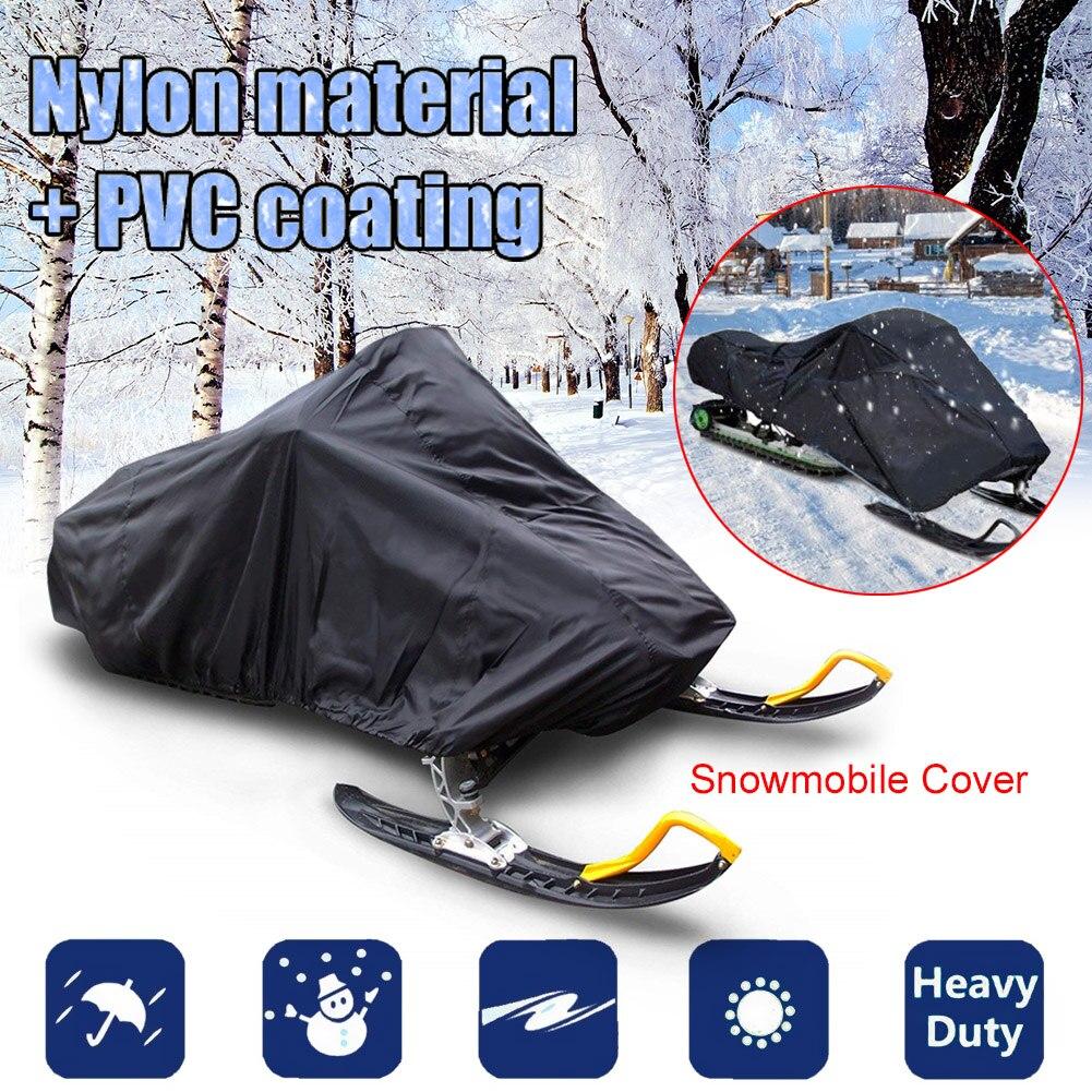 Winter Snowmobile Cover Waterproof Dust Trailerable Sled Cover Storage Anti-UV All-Purpose Cover Snowmobile Accessories