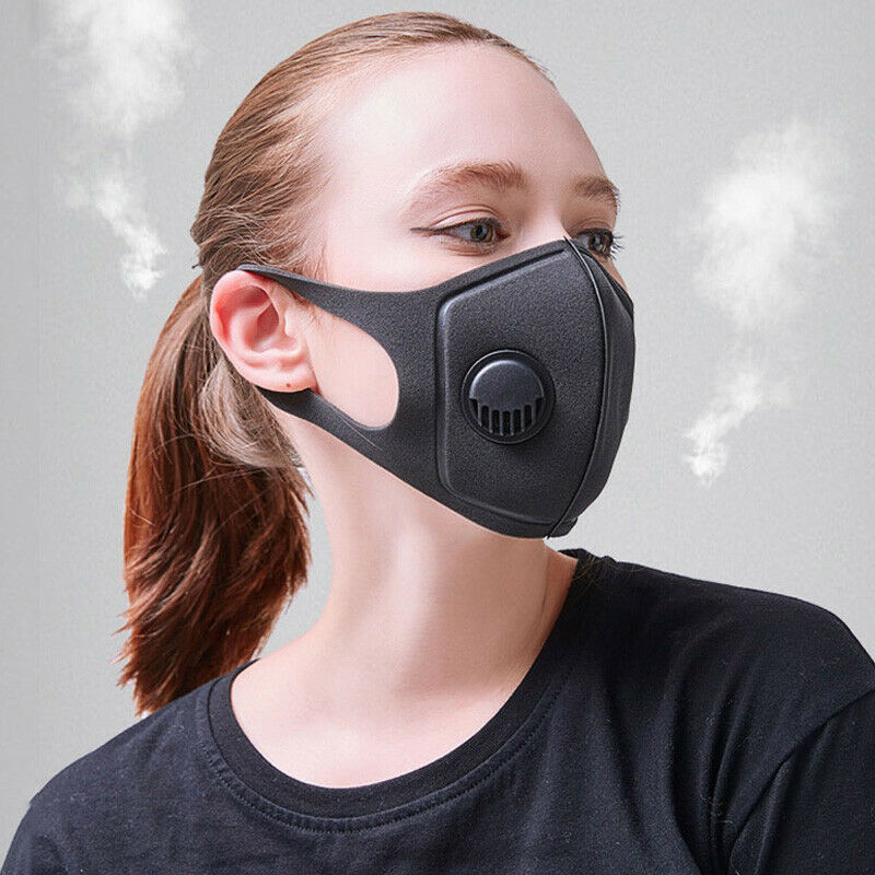 Masque Mouth Face Cover Comfortable Anti-Dust Anti-saliva Anti Infection Anti-droplets Splash-proof Filter Windproof Mascarillas