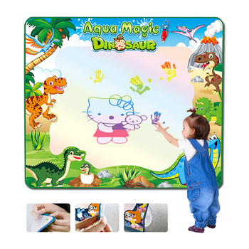 Magic Water Drawing Mat Toys Educational Toys Girls Draw Toy Board Set Color Book Paint for Kid Painting Set Doodle Brush Pen kid water drawing mat doodle board