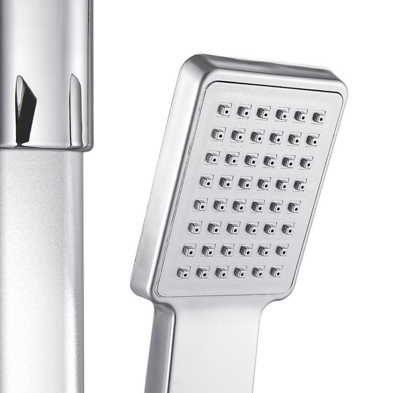 H78168e25da114c259cdd75bb14e358cek Aluminum Alloy Shower System Set Bathtub Thermostatic Shower Mixer With Hand Shower Soap Box Bathroom Faucets Shower Set HWC