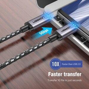 Image 3 - Tipo C 3.1 USB Ugreen USB C Macho a Tipo de Cable Macho 5X Cable Cargador rápido para Xiao 4C Nexus, Nexus 6 P, OnePlus 2, ZUK Z1, Nokia N1