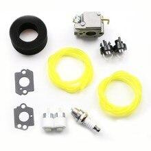 Kit de carburador de substituição para troy-bilt tb10cs tb20cs tb20ds tb65ss tb70ss tb90bc