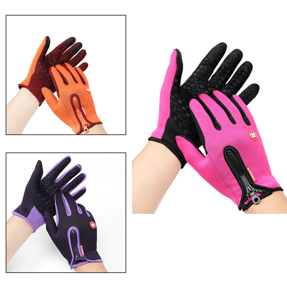 Elastic Windstopper Outdoor Sports Tool Ski Gloves Touch Screen Winter Goods