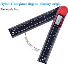 12inch Digital protractor Angle ruler 200mm 8inch angle Finder Meter Stainless Steel 360 degree goniometer inclinometer