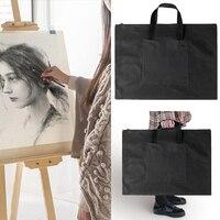 Document Handbag A2 Drawing Painting Board Storage File Bag Drawing Board Bags Adjustable Strap Shoulder Bag Free Shipping|File Folder| |  -