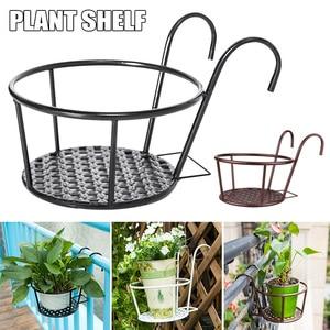 Image 1 - 強力な多彩な軽量幾何学的な金属植物スタンド植物棚ラック屋内 myding