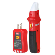 UNI-T UT25A Professional Automatic Circuit Breaker Finder Socket Tester Electrician Diagnostic-tool with LED Indicator