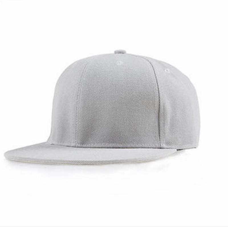 2019New אופנה Snapback כובע צבעים יוניסקס רגיל בייסבול כובע היפ הופ מתכוונן eaked כובע מגן עבור בנים ובנות 8.27