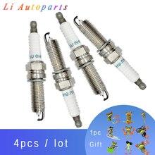 4pcs High Quality Spark Plug for Hyundai Kia Sorento Sonata YF FXU16HR11 1884711160
