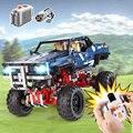 Lepinings 20011 Technic серия совместима с 41999 классическим ограниченным тиражом внедорожных автомобилей строительные блоки детские игрушки