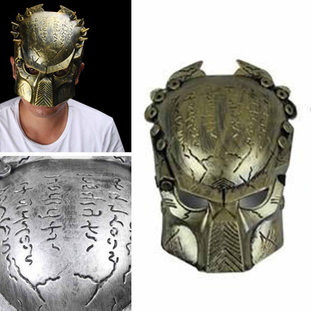 NUOVO Predator Maschera di Orrore di Halloween Masquerade Fancy Dress Del Partito di Cosplay Costume Spaventoso Maschera Per Halloween DayParty Predator Maschere