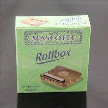 Rollbox Rolling Box Case Manual Cigarette Smoker Manual Smoker Stainless Steel Cigarette Maker