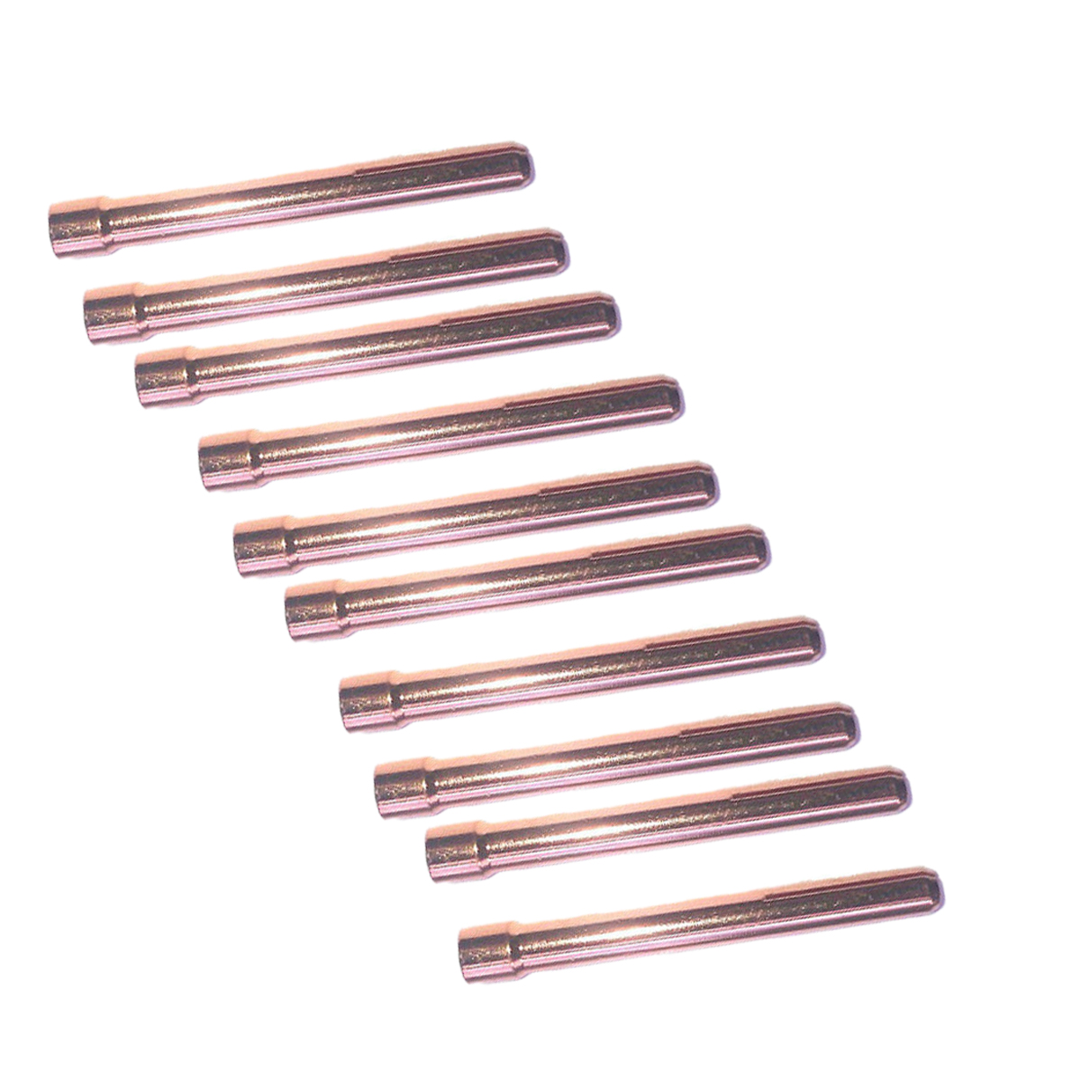 10Pcs/Set Welding Chucks Torches Welder Tools Parts Soldering Premium Quality TIG Collet 10N23 For WP-17/18/26 Torches