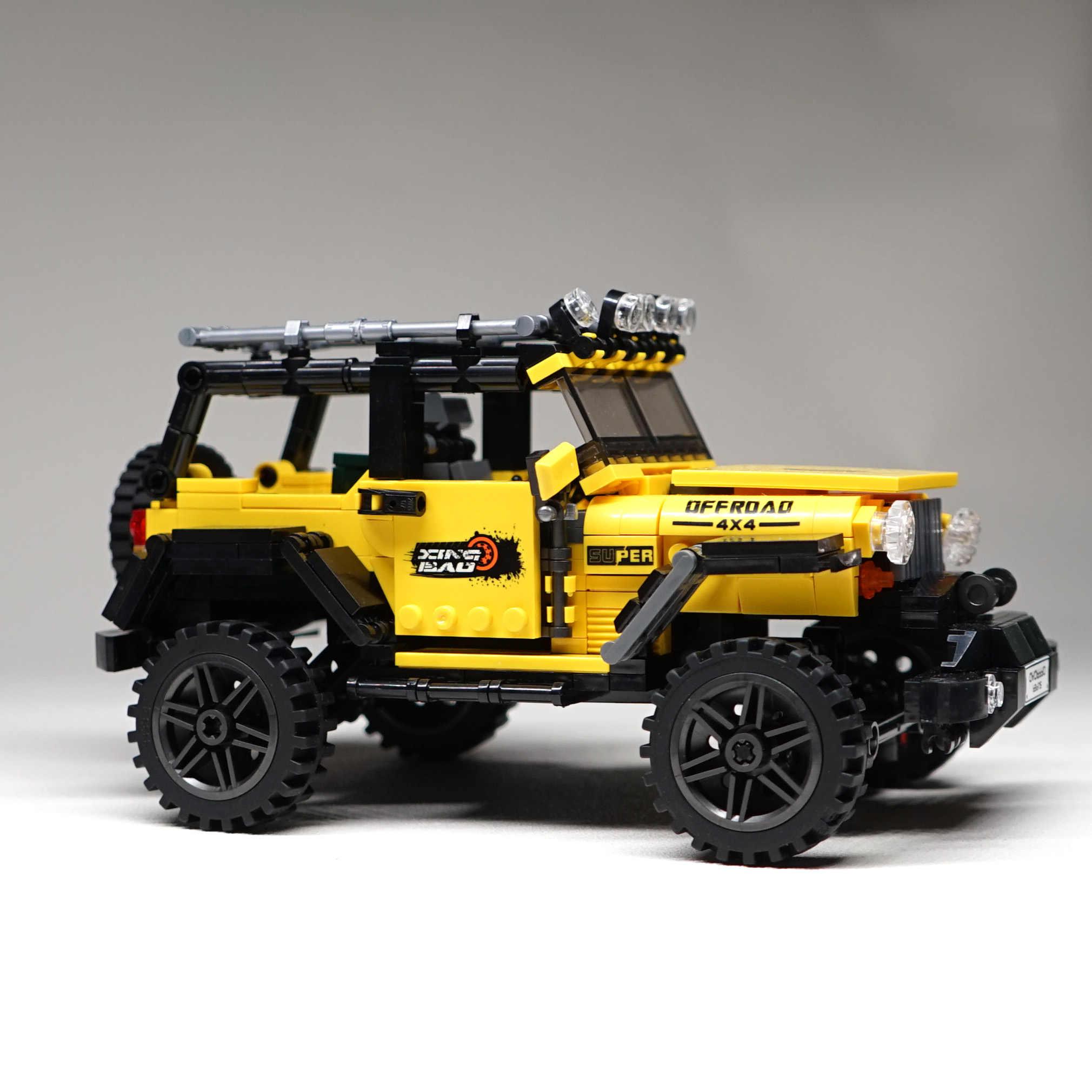 8x8 ATV Technic voiture modèle blocs de construction briques jouets 23006 Hatchback 23012 Arakawa Compatible avec lavant