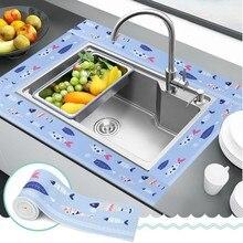 Для ванной стены уплотнительная лента самоклеющаяся кухня Caulk лента водонепроницаемый плесени Ванна соединение радиатора стикер для трещин угловая палка полоса