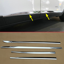 Chrome Door Body Trim FOR Jeep Cherokee KL 2014 2015 2016 2017 2018 2019 2020 Side Molding Cover Styling Accessories