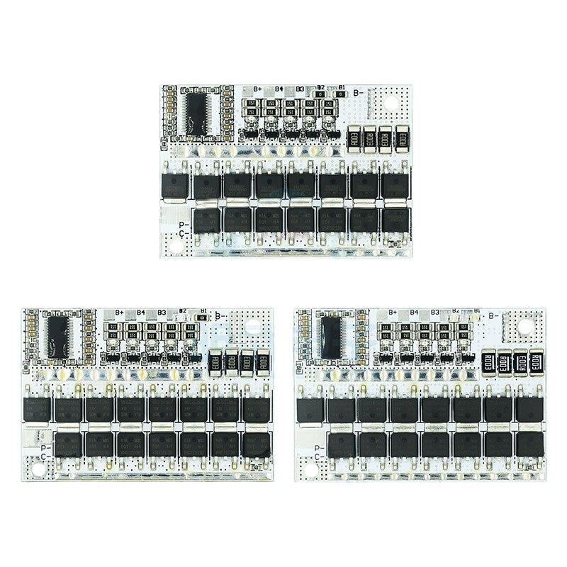3s/4S/5S Bms 12v 16.8v 3.2v/3.7v 100a bateria de Iões de lítio Lmo Ternário placa de Circuito de Proteção Da Bateria de lítio de Equilíbrio de Carga De Li-polímero