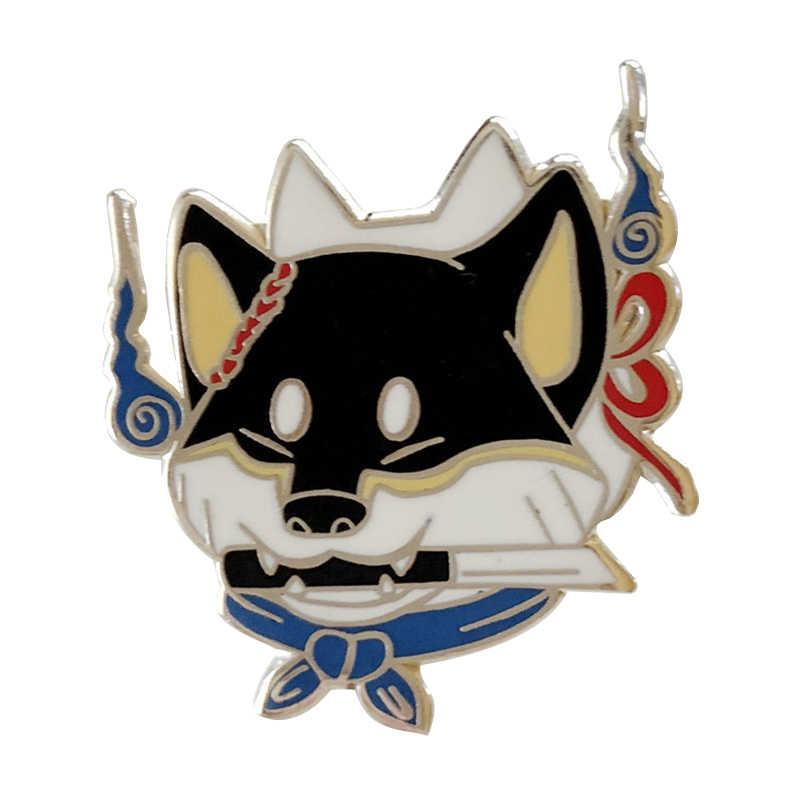 Anjing Keras Enamel Pin
