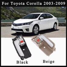 Per Toyota Corolla 2003 2004 2005 2006 2007 2008 2009 69205-02090 69206-02090 Beige/nero sinistra destra maniglia interna interna