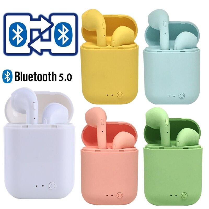 Mini-2 TWS беспроводные bluetooth-наушники, наушники, гарнитура, наушники, гарнитура, зарядное устройство для xiaomi phone i9S