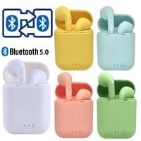 Mini-2 auriculares TWS inalámbricos por Bluetooth, auriculares manos libres con caja de carga para teléfono xiaomi