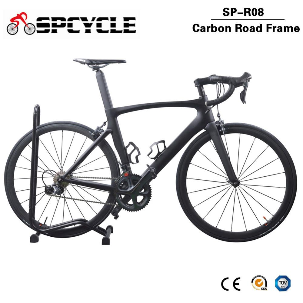 Spcycle 2019 New 700C Full Carbon Road Bike Ultegra R8000 22 Speed Complete Carbon Racing Bicycle 7.8kg Ultralight Road Bicycle