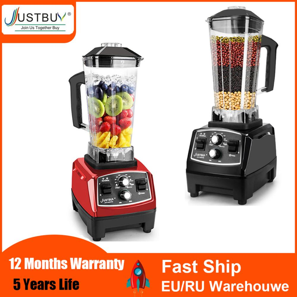 Juicer Blender-Mixer Food-Processor Fruit Commercial-Grade Ice-Smoothies Heavy-Duty Bpa-Free