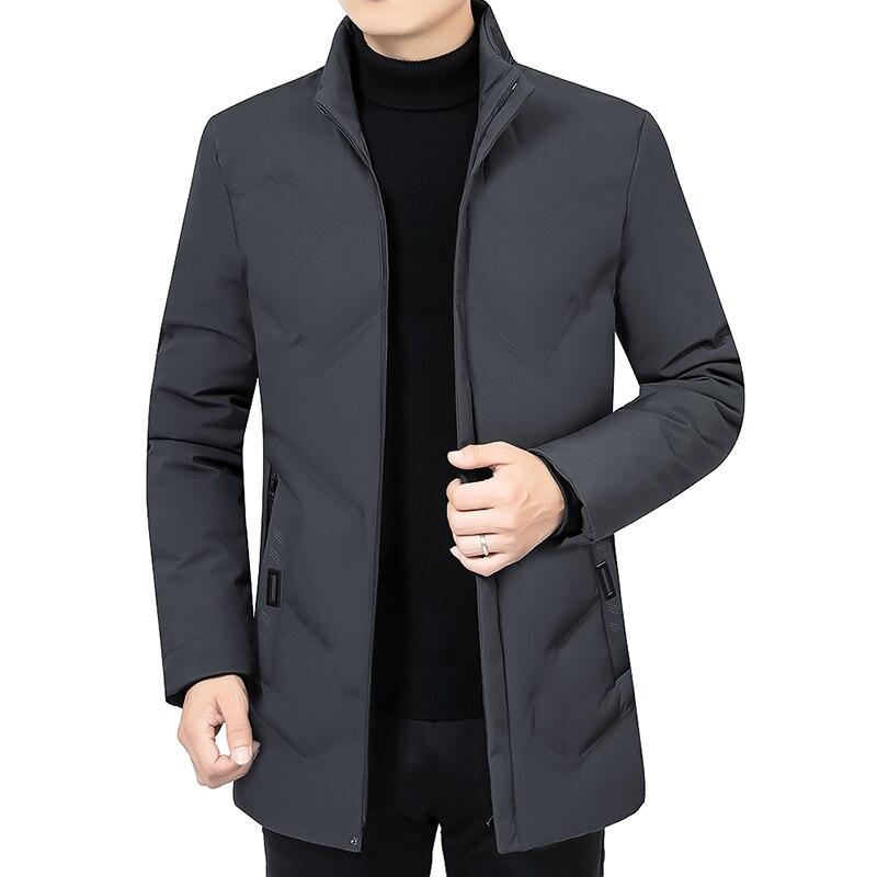 Новинка 2020, зимняя мужская куртка, утепленные теплые мужские парки, пальто с капюшоном, мужские флисовые куртки, верхняя одежда, ветрозащитн...