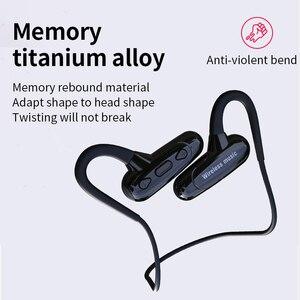 Image 5 - Cyboris Non In Ear auricolare Bluetooth Sport conduzione ossea 16GB lettore Mp3 cuffie 10 ore di riproduzione In esecuzione IPX7 Hifi Bass