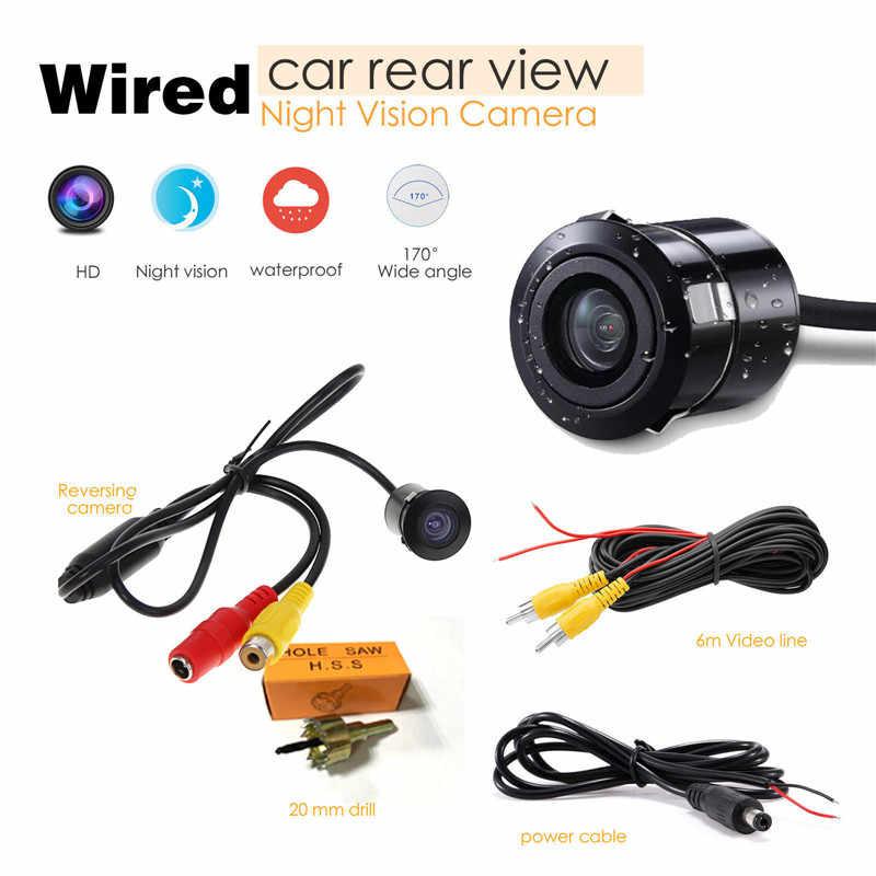 Caméra de vue latérale avant arrière de voiture étanche caméra de recul de 360 degrés caméra de Vision nocturne vue arrière Parking