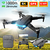GPS 5G LS38 Drone 6K HD Dual  WiFi FPV Professional Aerial Photography Fold Quadcopter Brushless Motor RC Helicopter Dron