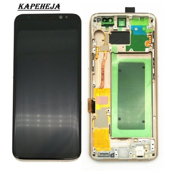 5.8/6.2Super AMOLED For Samsung Galaxy Galaxy S8 G950 G950F/S8+ S8 Plus G955 G955F LCD Display Touch Screen Digitizer Assembly смартфон samsung galaxy s8 plus sm g955 золотистый