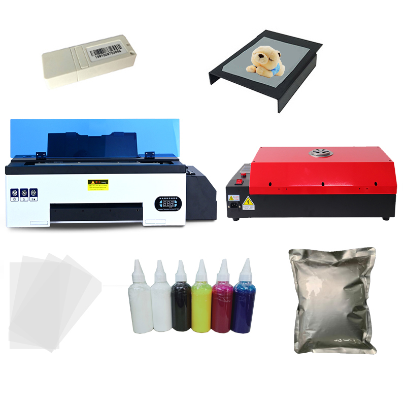 Lxhcoody white ink a3 dtf printer heat transfer pet converted film direct transfer film printing kit transfer film printer