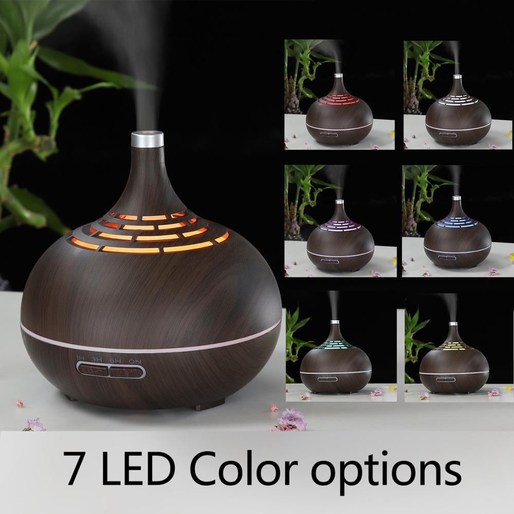 Image 4 - 400ml Humidifier Ultrasonic Air Humidifier APP WiFi Control Mist Maker Aroma Essential Oil Diffuser LED Night Light Home Office-in Humidifiers from Home Appliances