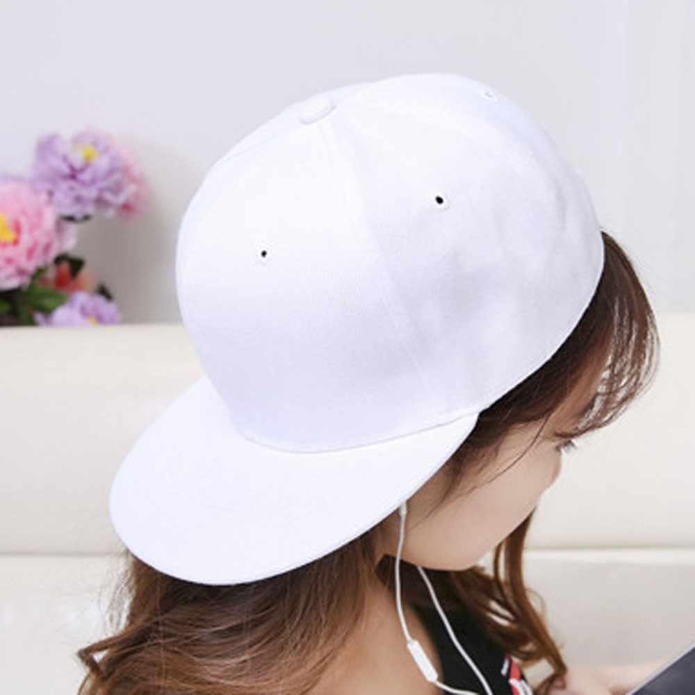 Düz renk beyzbol şapkası pamuk Hip Hop kadınlar güneş koruma Snapback beyzbol şapkası sevimli japon tarzı