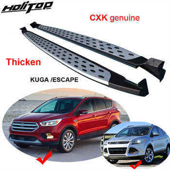 running board side step side bar for Ford Escape/Kuga 2013-2017 2018 2019 2020,CXK geunine,BM model,real thicken aluminium alloy