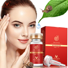 Snail 100% pure plant extract Hyaluronic acid liquid whitening blemish serum ampoules anti-acne Rejuvenation Serum free shipping