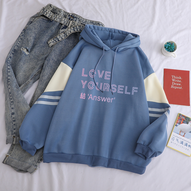 BTS LOVE YOURSELF ANSWER HOODIE (3 VARIAN)