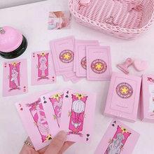 2 типа аниме Cardcaptor Sakura Clow Card косплей реквизит KINOMOTO SAKURA Card Captor карты с Сакурой Таро 54 шт