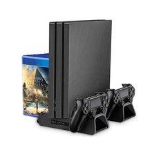 Для sony PS4/slim/pro внешний вентилятор охлаждения для playstation 4 хост кулер турбо контроль температуры вентилятор игры аксессуары