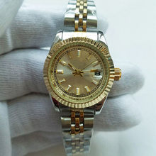 28mm Luxury Bracelet lady Gold Wristwatches New Brand simple Dress Ladies Watch Women Watches Quartz Clock relogio feminino