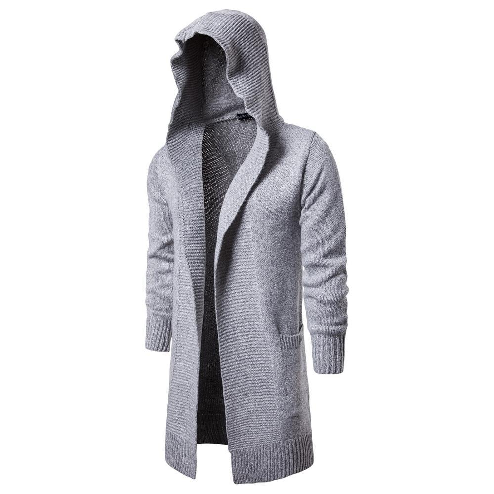 Sweater Clothing Men Long Sleeve Pullovers Outwear Man Sweaters