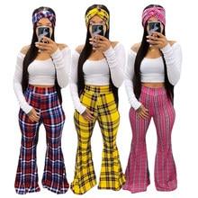 Echoine Donna Autunno Retro casual Sportwear Turban + T-Shirt + pantaloni reticolo set di tre Pezzi Del Partito Outfit Attivo Tuta set