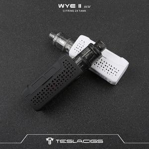 Image 5 - オリジナル Veeape TESLACIGS WYE II 86 55W TC 吸うキット wi/4 ミリリットルシトリン 24 タンク電子タバコ蒸気を吸うことキット vs パンク 86 ワット/ラックスキット/将軍