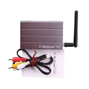 Image 5 - Auto Senza Fili WiFi Display Dongle Video Adattatore Mirroring Dello Schermo di Navigazione GPS Per Auto per iPhone X 6 7 8 Plus. Android tastiera del telefono TV