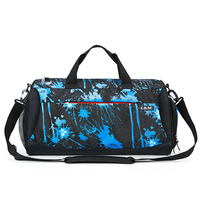 Large Capacity Handle Shoulder Travel Storage Bag With Shoes Pocket Yoga Dry Wet Separation Training Sport Bag Men Women For Gym