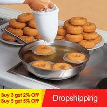 Пластиковый светильник, дозатор для пончиков, форма для пончиков, легкий быстрый портативный арабский вафельный пончик, гаджет, Прямая поставка