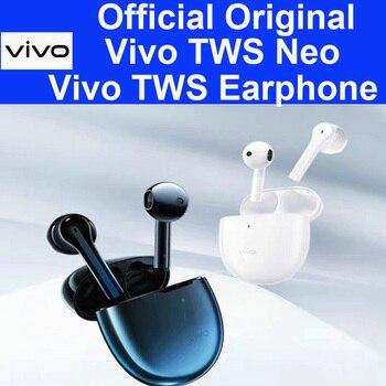 Перейти на Алиэкспресс и купить Оригинальные наушники ViVO TWS Neo, 14,2 мм динамическая Беспроводная bluetooth-гарнитура IP54, X30 Pro iqoo 3 Neo Pro Nex 3 U3x Z5x V17