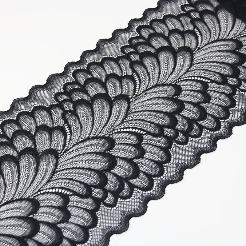 (3 м) 22 см листья эластичные кружевные планки для одежды аксессуары для шитья аппликационный костюм кружевных тканей